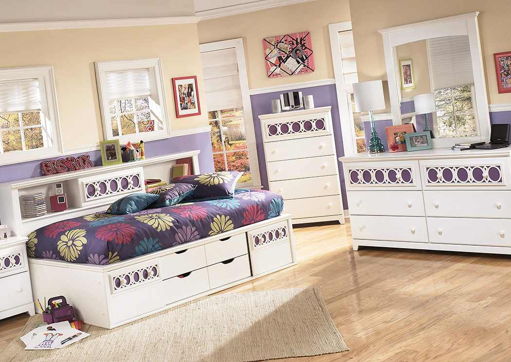 signature full bed johnson furniture mirror s design youth category bookcase by dresser w ashley zayley