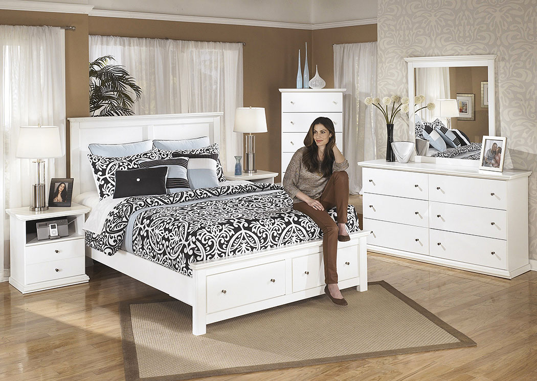 Bostwick Shoals Queen Storage Platform Bed,Signature Design By Ashley