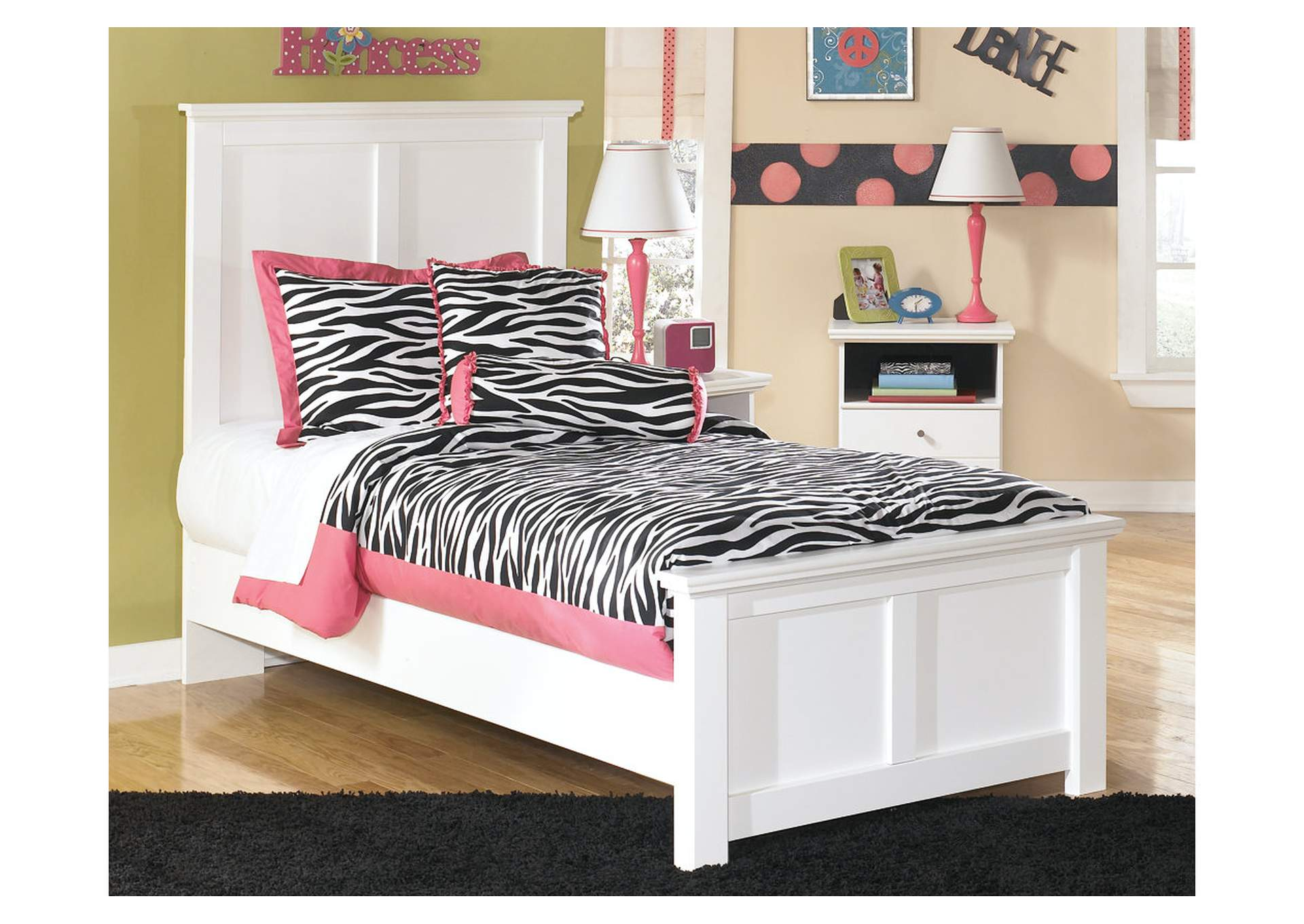 Bostwick Shoals Twin Panel Bed,48 Hour Quick Ship