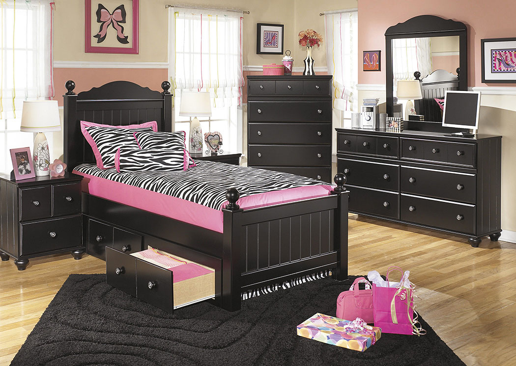 Jaidyn Twin Poster Bed,Signature Design By Ashley