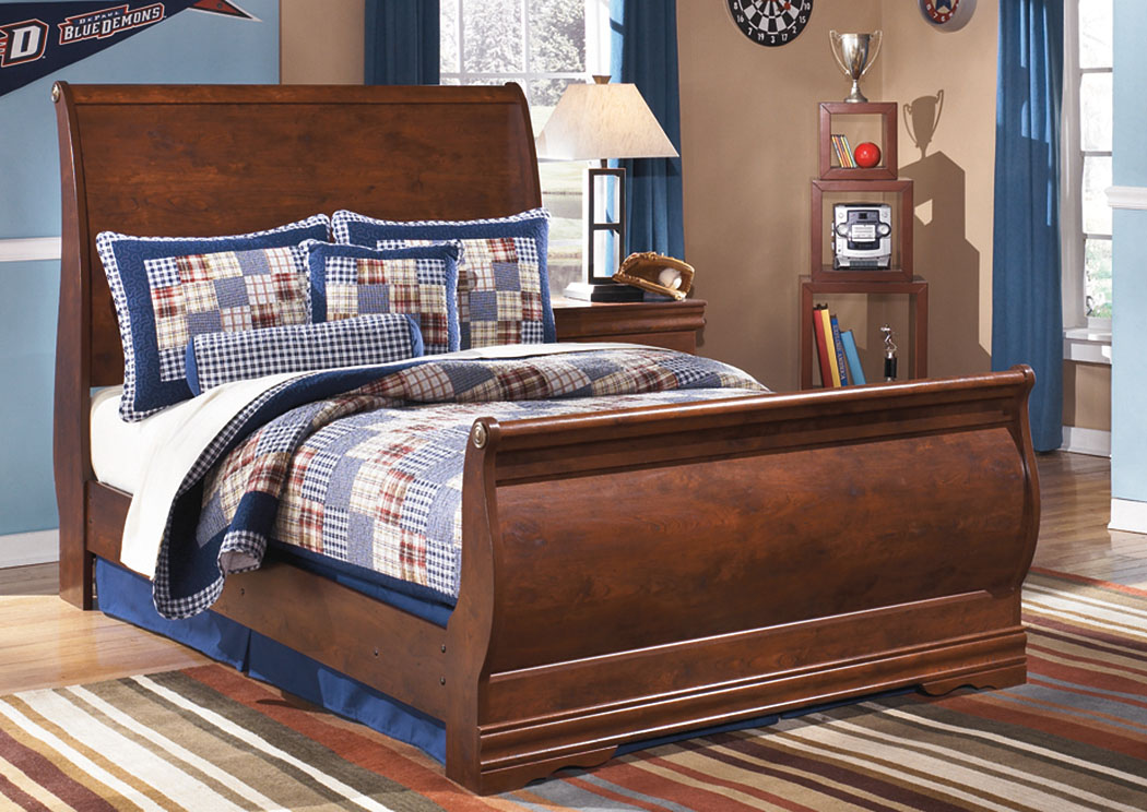 Wilmington Full Sleigh Bed,Signature Design by Ashley