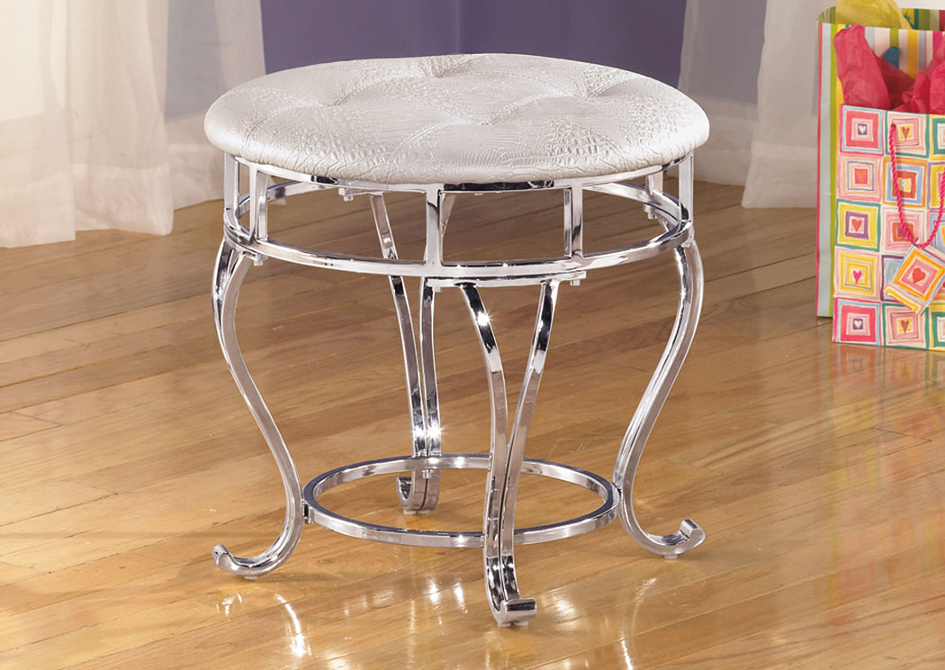 Zarollina Upholstered Stool,Signature Design By Ashley
