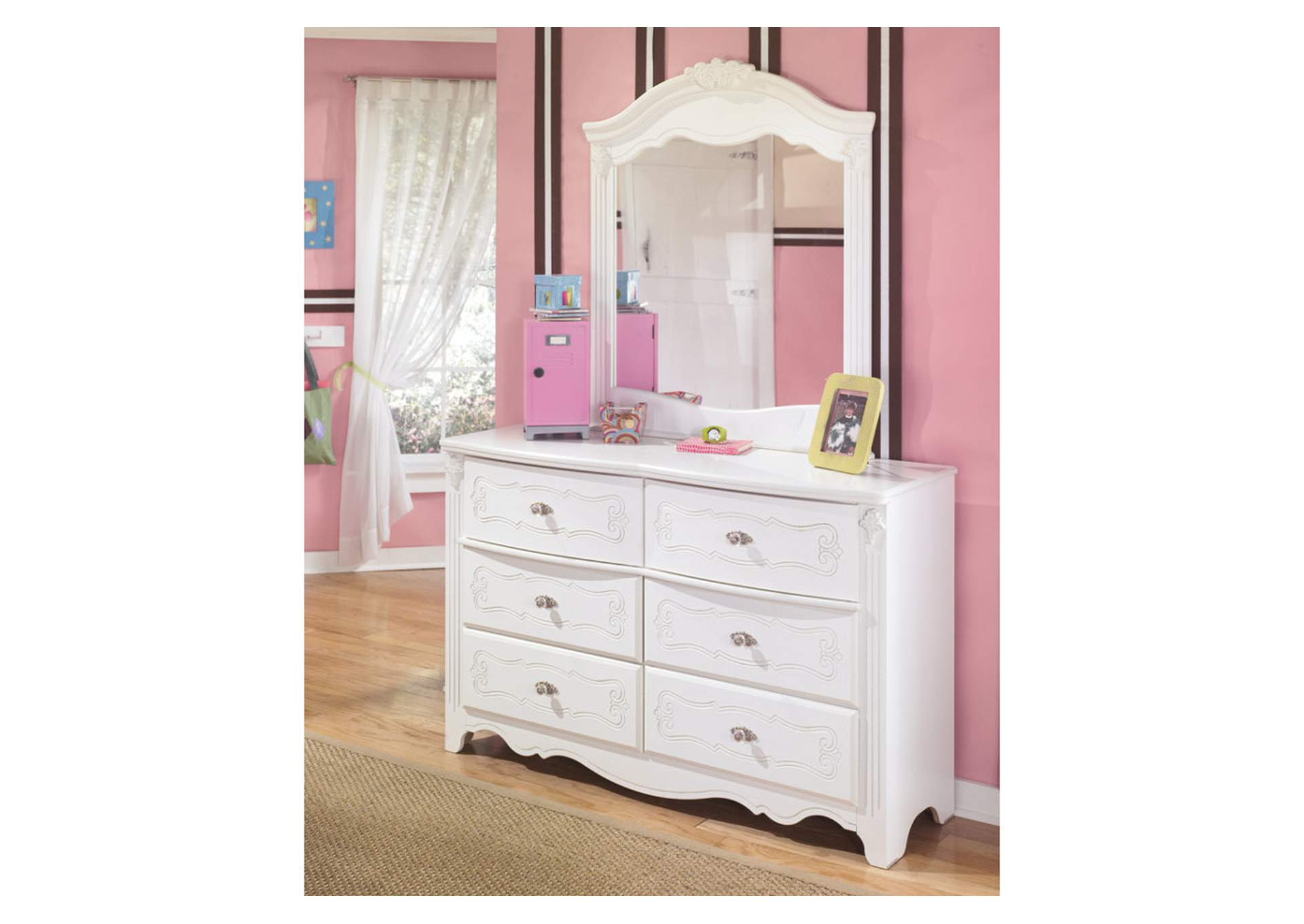Exquisite Dresser & Mirror,Signature Design By Ashley