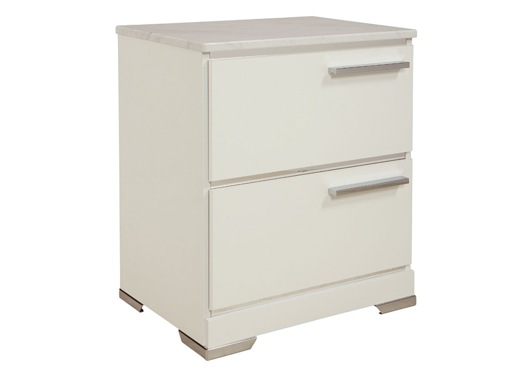 Brillaney White 2 Drawer Nightstand,Signature Design By Ashley