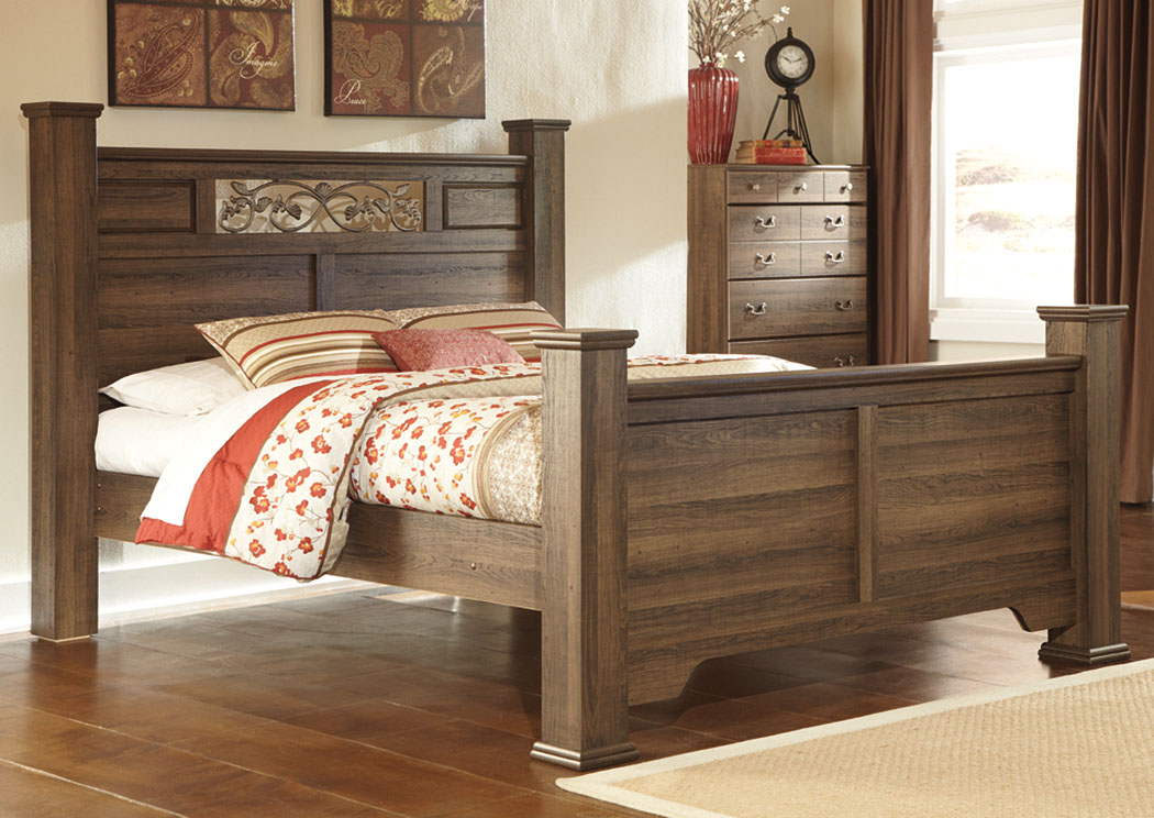 Allymore Queen Poster Bed,Signature Design By Ashley