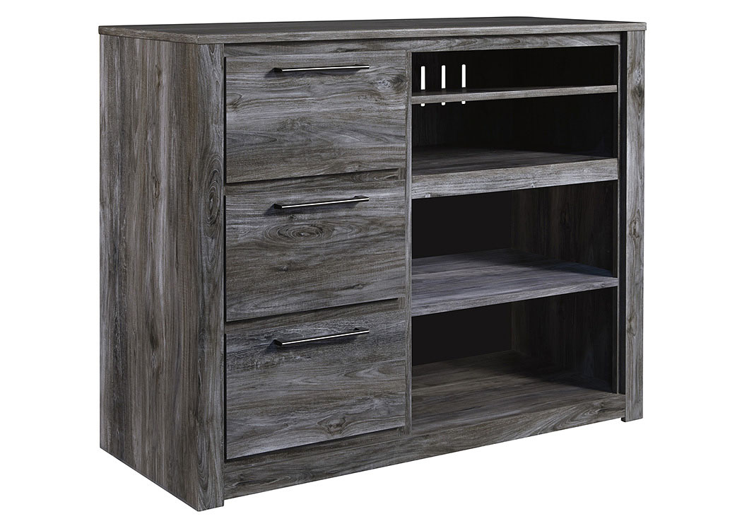 Baystorm Gray Media Chest,ABF Signature Design by Ashley