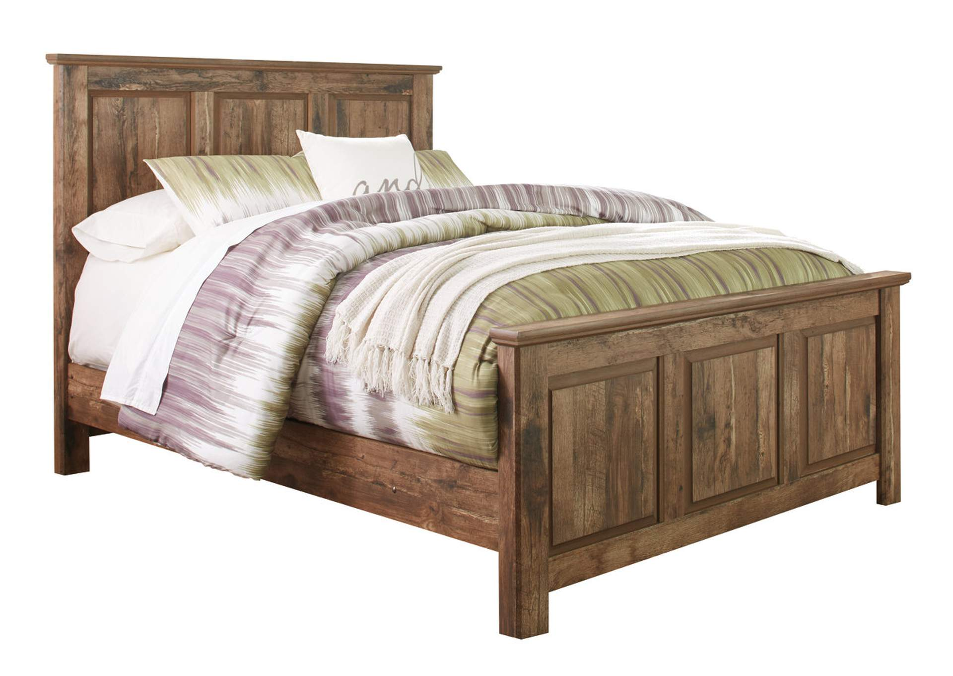 Blaneville Brown Queen Panel Bed,Signature Design By Ashley