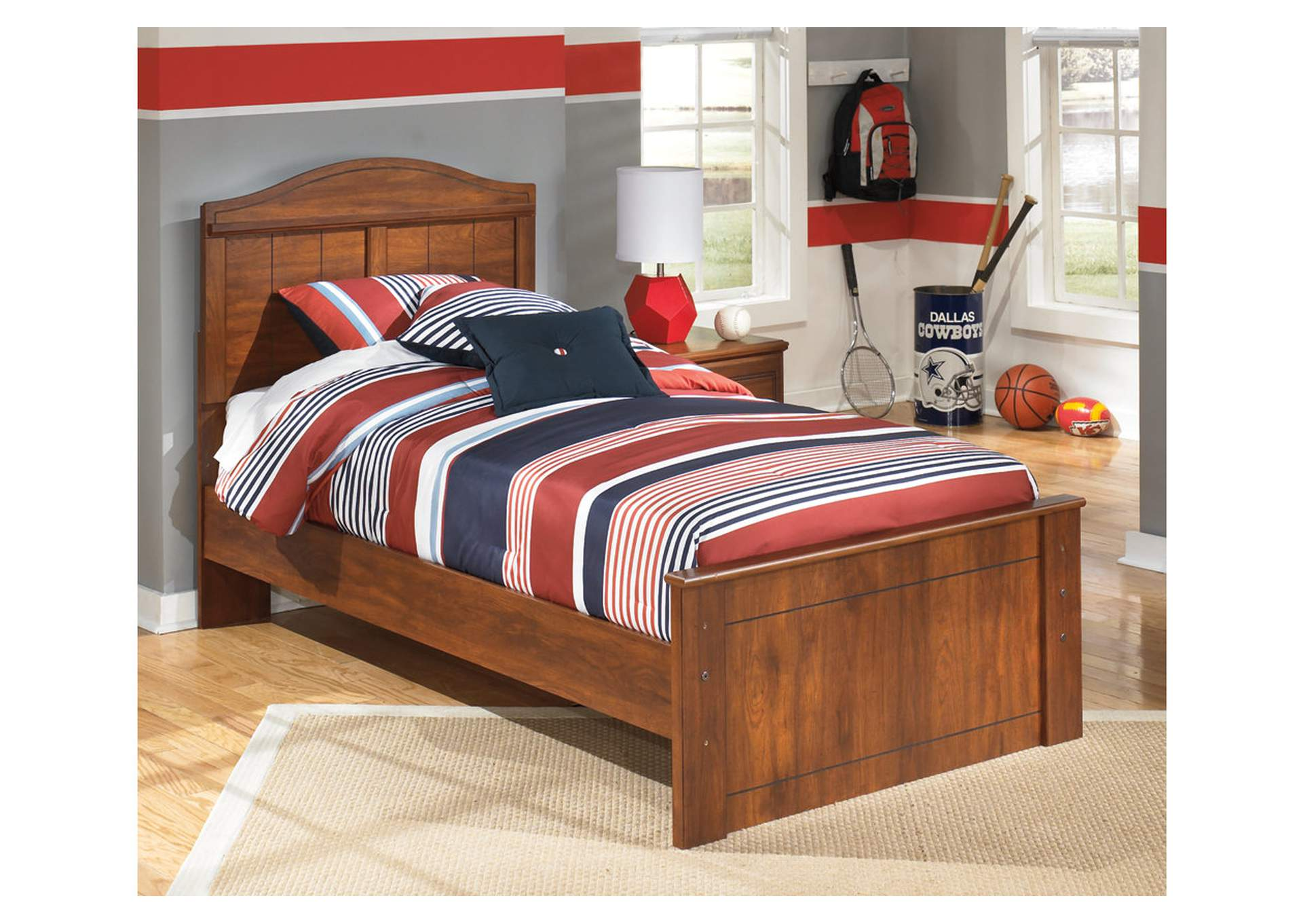 Barchan Twin Panel Bed,Signature Design By Ashley