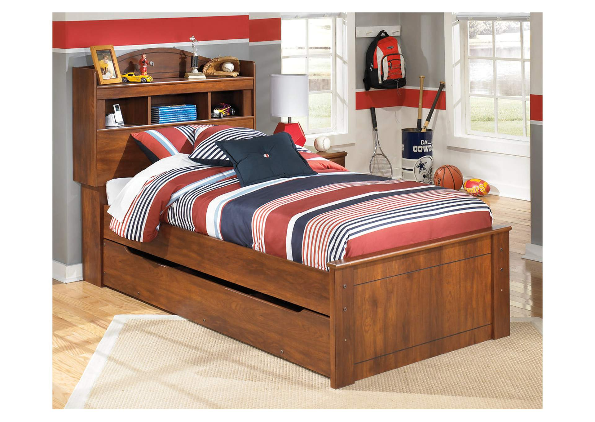 Barchan Twin Bookcase Bed w/Trundle,Signature Design by Ashley