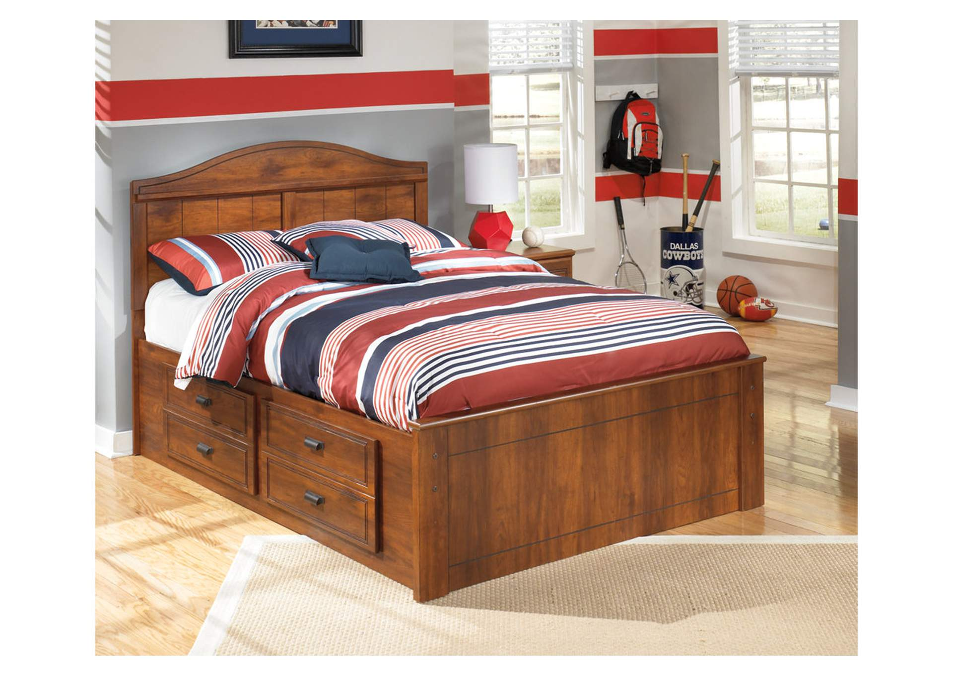 Barchan Full Panel Storage Bed,Signature Design by Ashley