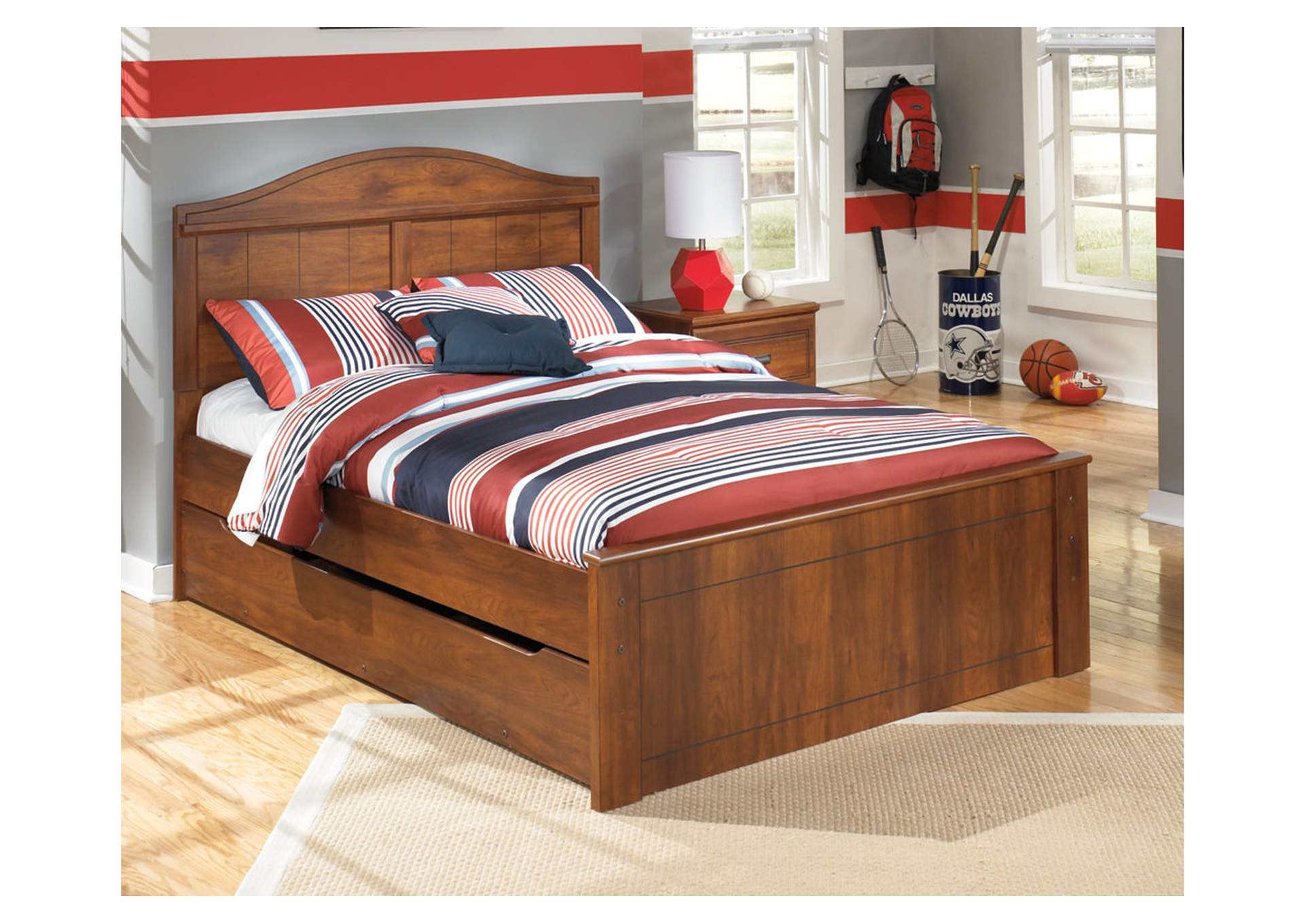 Barchan Full Panel Bed w/Trundle,Signature Design By Ashley