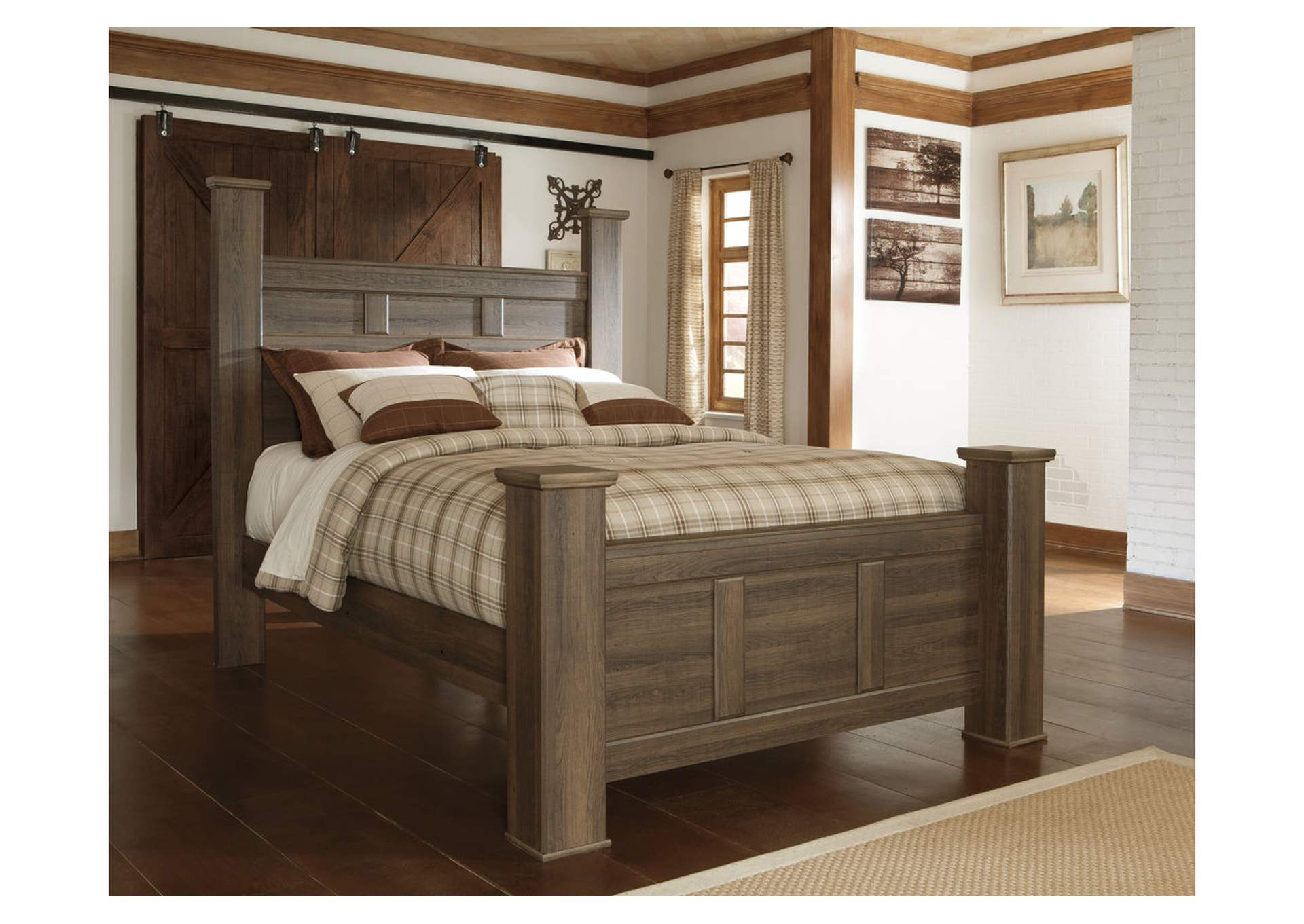 Juararo California King Poster Bed,ABF Signature Design by Ashley