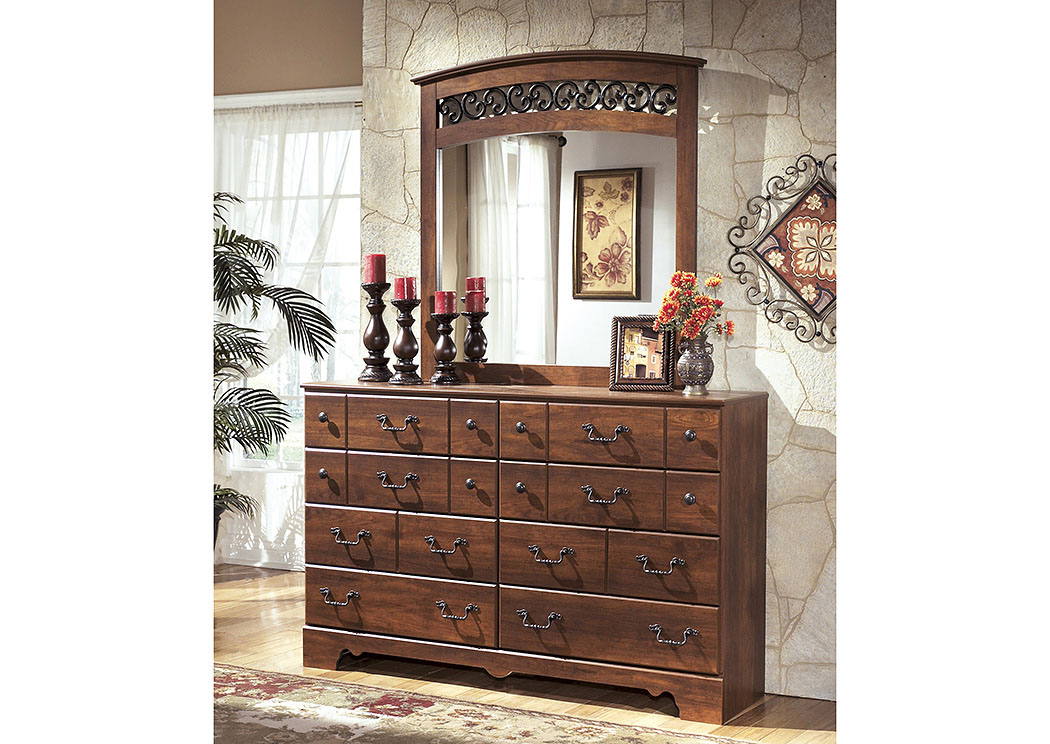 Timberline Dresser & Mirror,Signature Design By Ashley