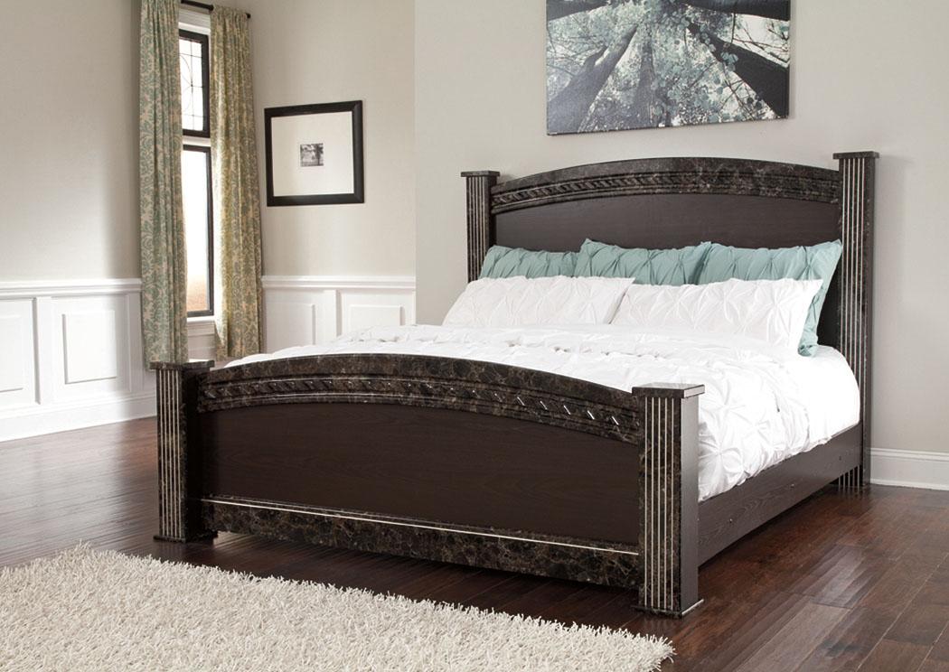 Spiller Furniture Mattress Vachel King Poster Bed