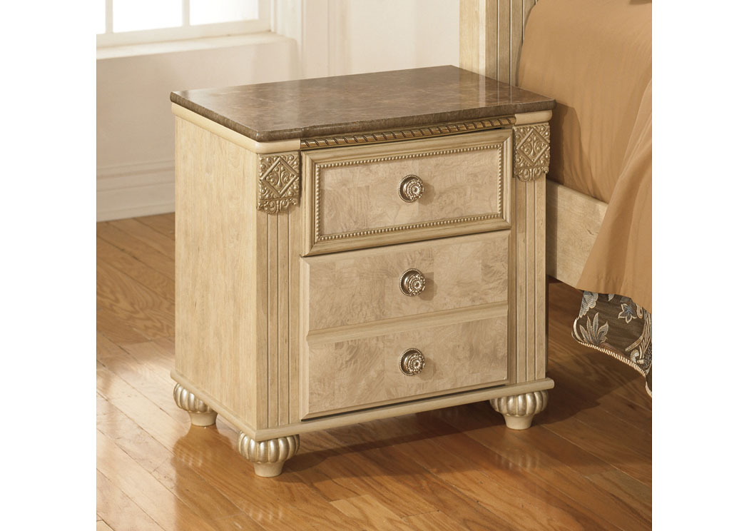 Saveaha Two Drawer Nightstand,Signature Design by Ashley