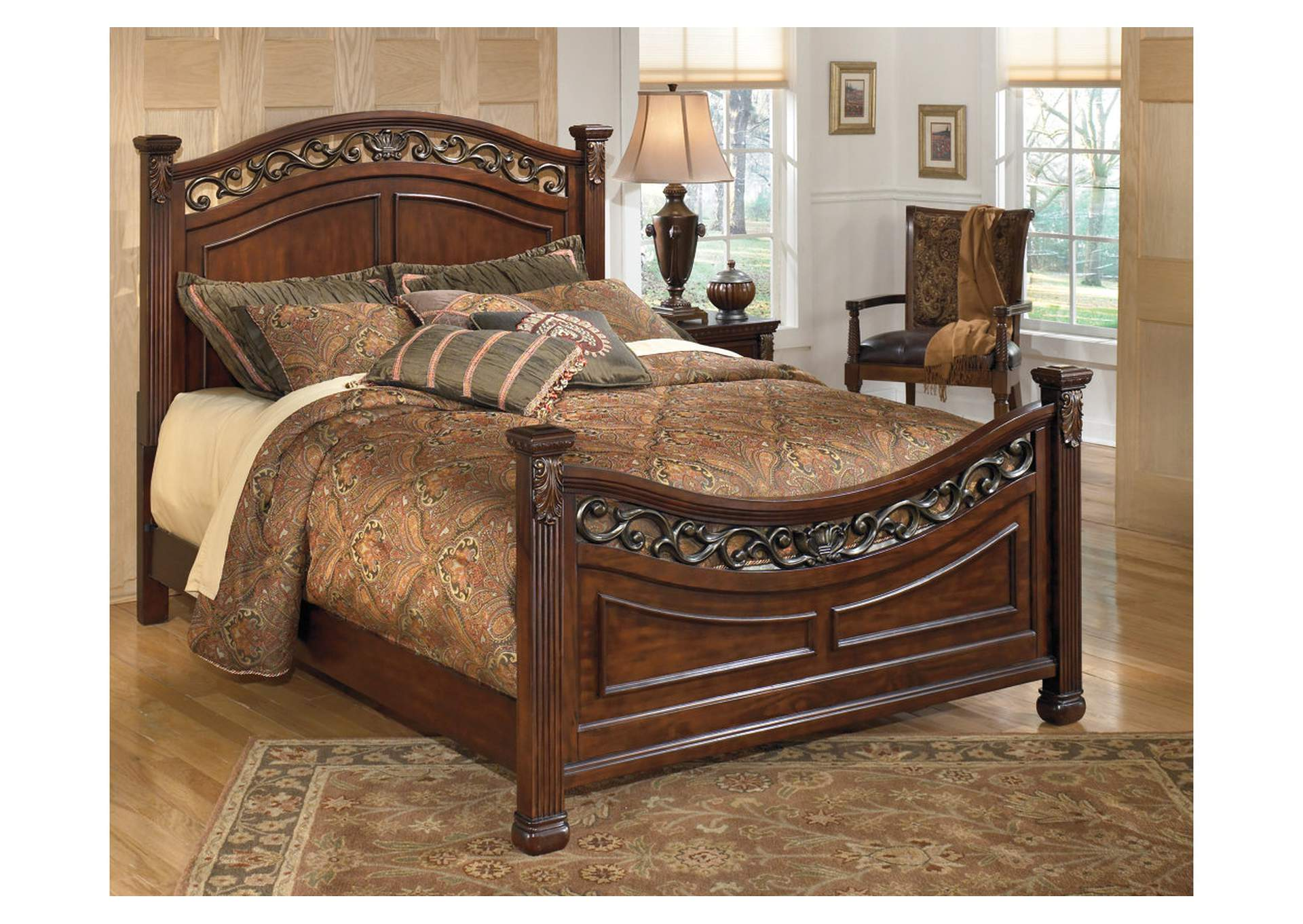 Leahlyn King Panel Bed,Signature Design By Ashley