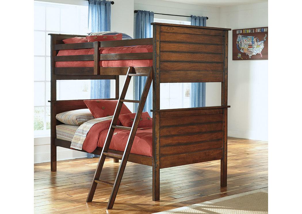 Forks Carolina Furniture - Easton, PA Ladiville Twin/Twin Bunk Bed