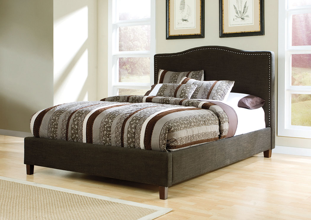 Brown California King Upholstered Bed,ABF Signature Design by Ashley