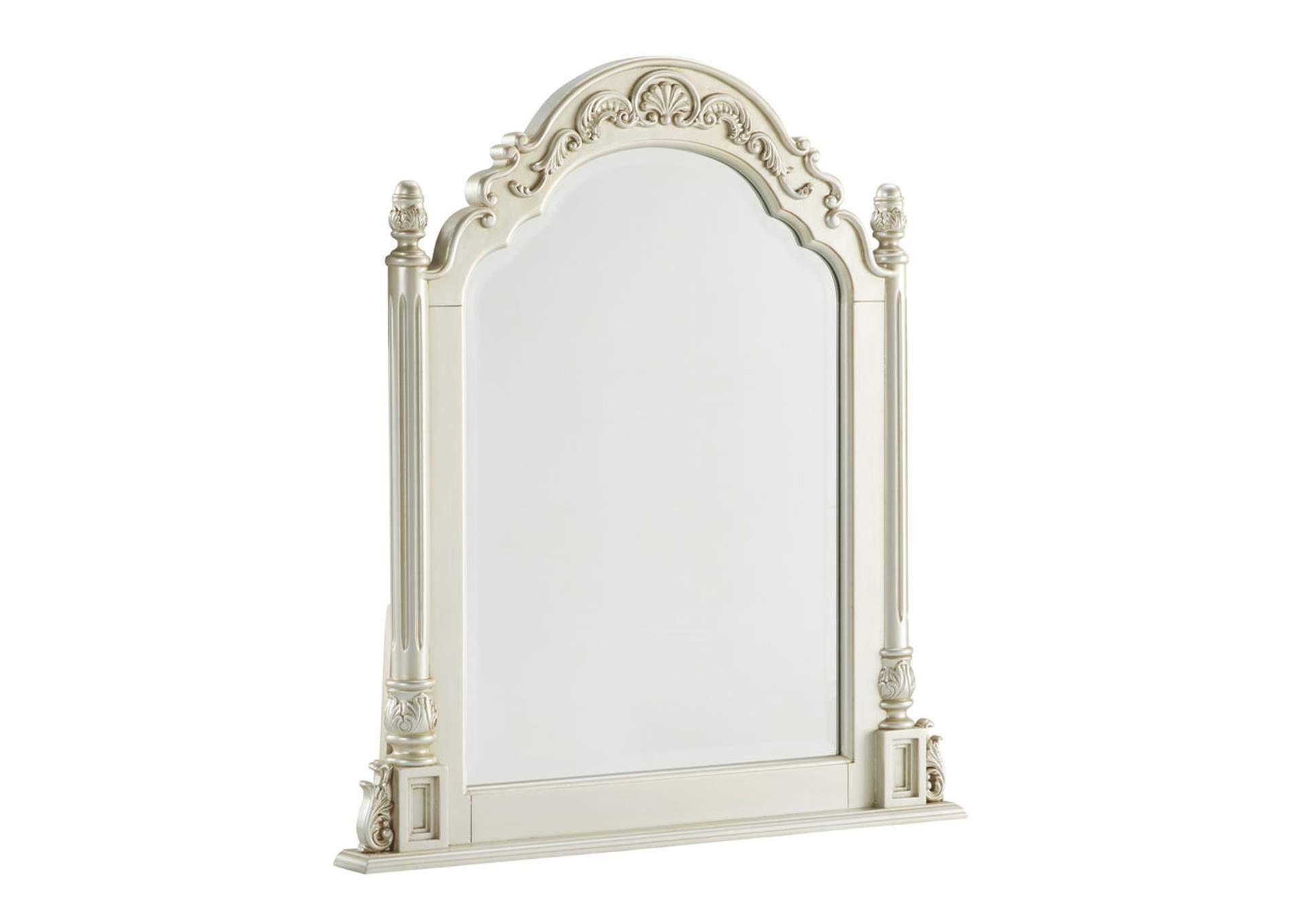 Cassimore Pearl Silver Vanity Mirror,ABF Signature Design by Ashley