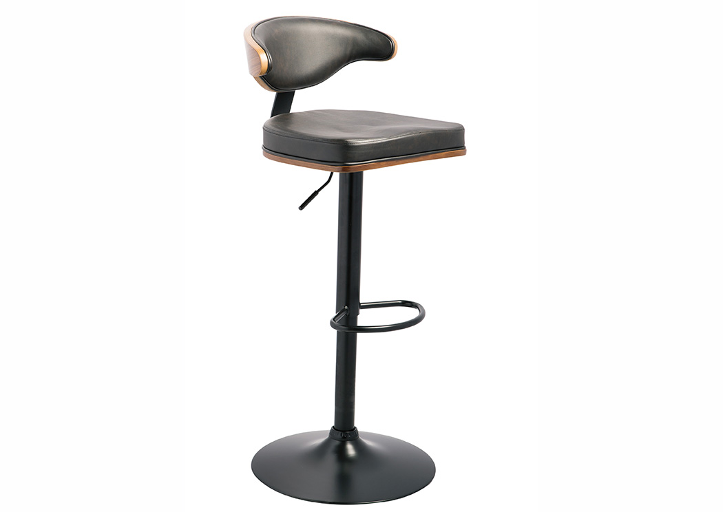 Adjustable Height Barstools Multi Tall Upholstered Swivel Barstool,ABF Signature Design by Ashley