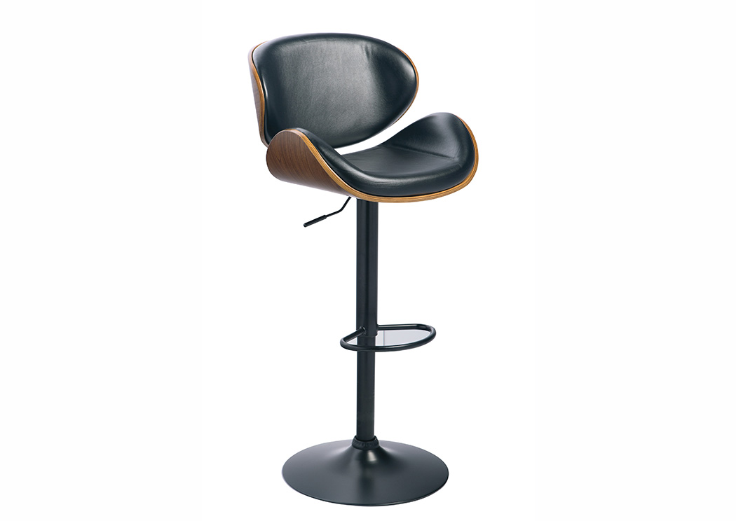 Tall Upholstered Swivel Barstool,Signature Design by Ashley