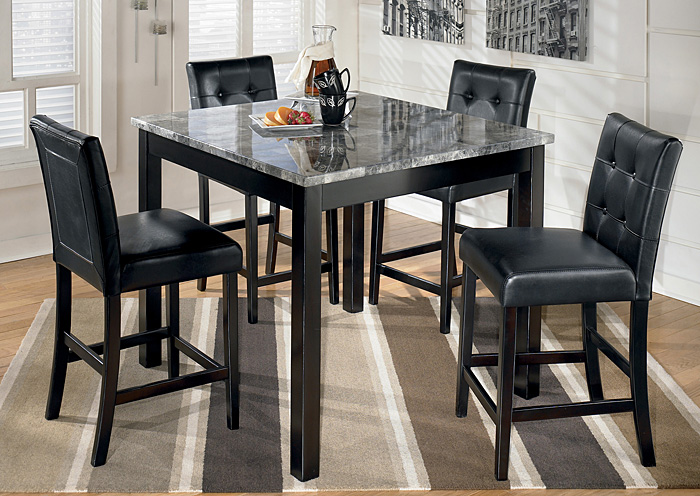 Maysville Square Counter Height 5 Piece Dining Set,ABF Signature Design by Ashley