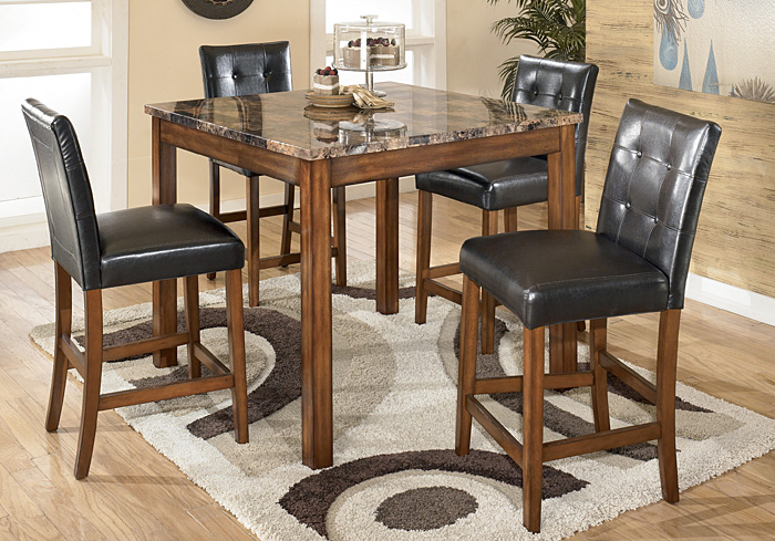 Theo 5 Piece Counter Height Dining Set,Signature Design By Ashley