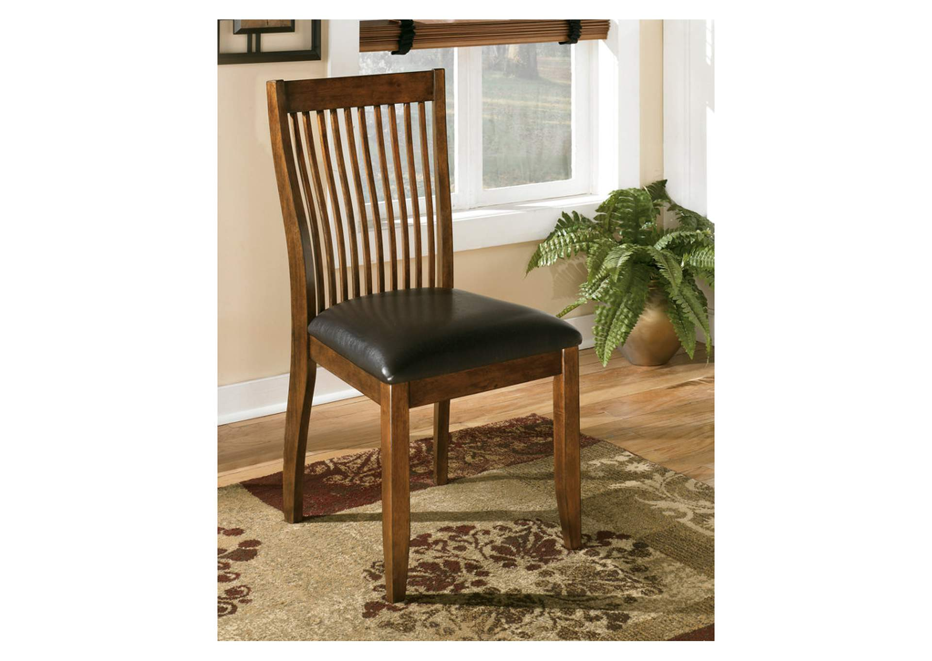 Stuman Dining Upholstered Side Chair (Set of 2),Signature Design by Ashley