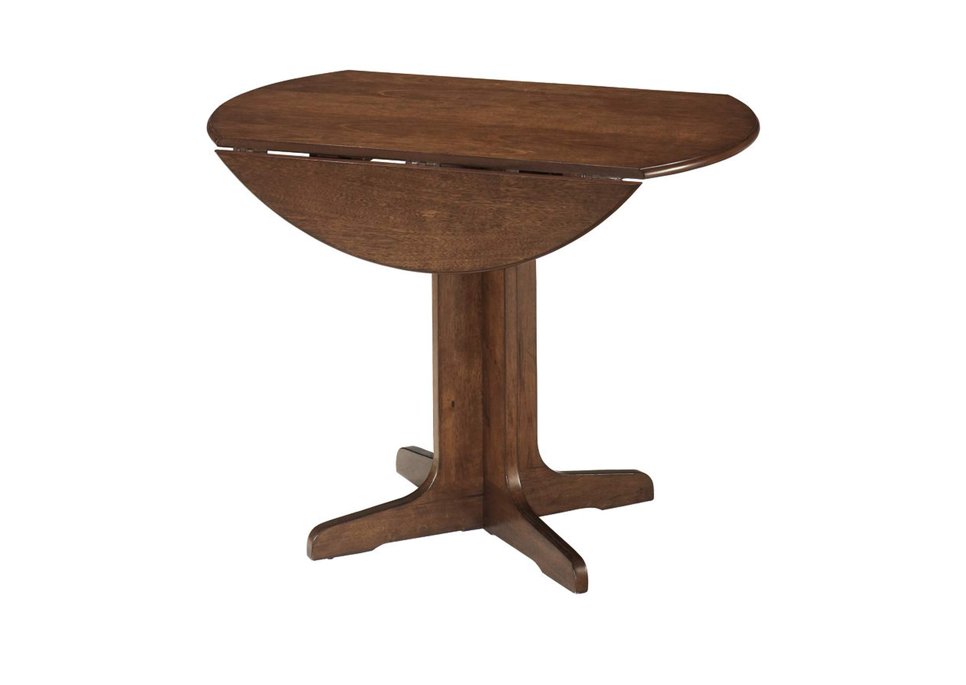 Stuman Round Drop Leaf Table,ABF Signature Design by Ashley