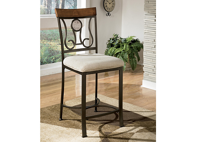 Hopstand Upholstered Barstool (Set of 4),ABF Signature Design by Ashley
