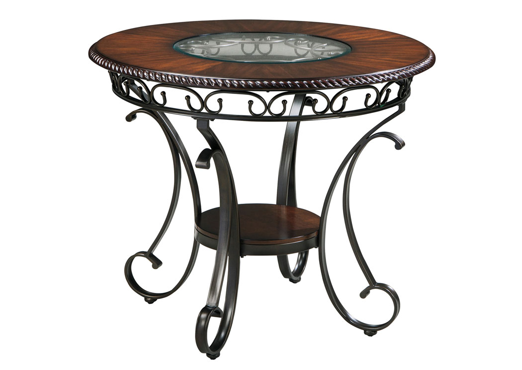 Glambrey Round Counter Height Table,Signature Design By Ashley