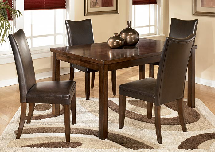 Charrell Brown Side Chairs (Set of 2),ABF Signature Design by Ashley