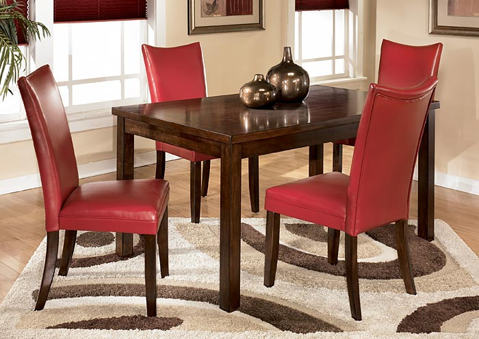 Charrell Red Side Chairs Set Of 2