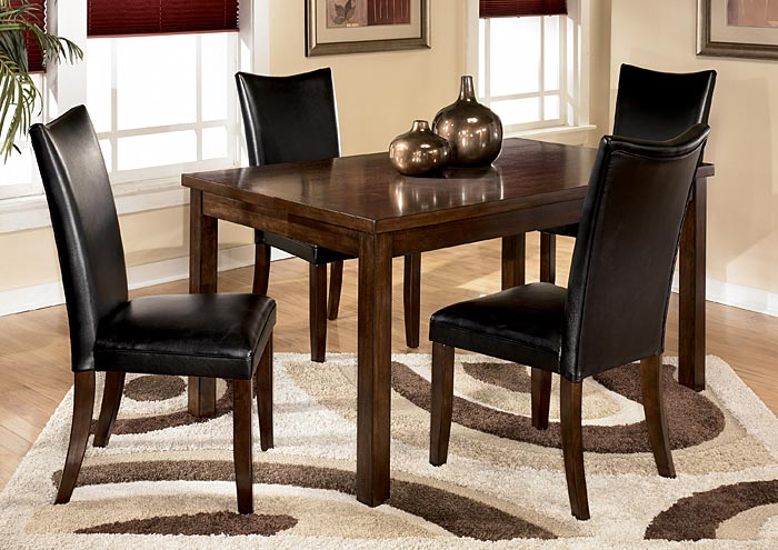 Charrell Black Side Chairs (Set Of 2)