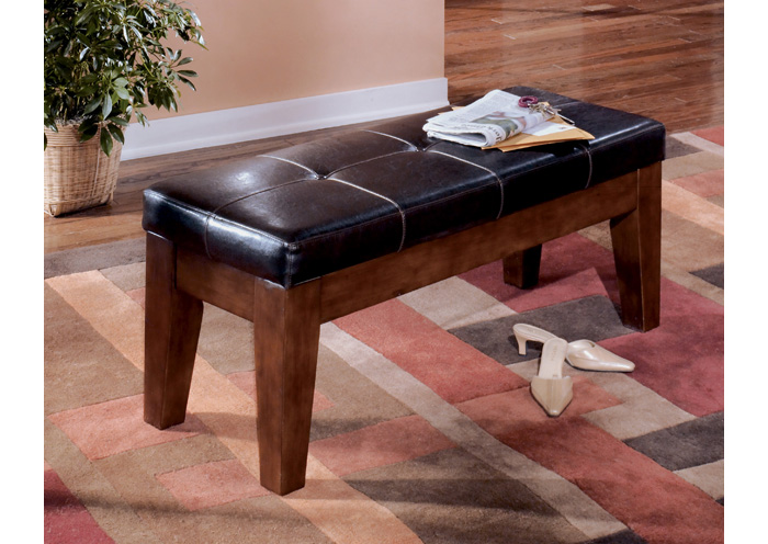 Larchmont Large Upholstered Dining Bench,Signature Design By Ashley