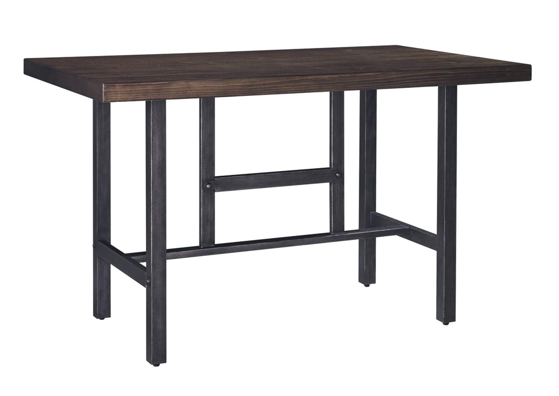Kavara Medium Brown Rectangular Dining Room Counter Table,ABF Signature Design by Ashley