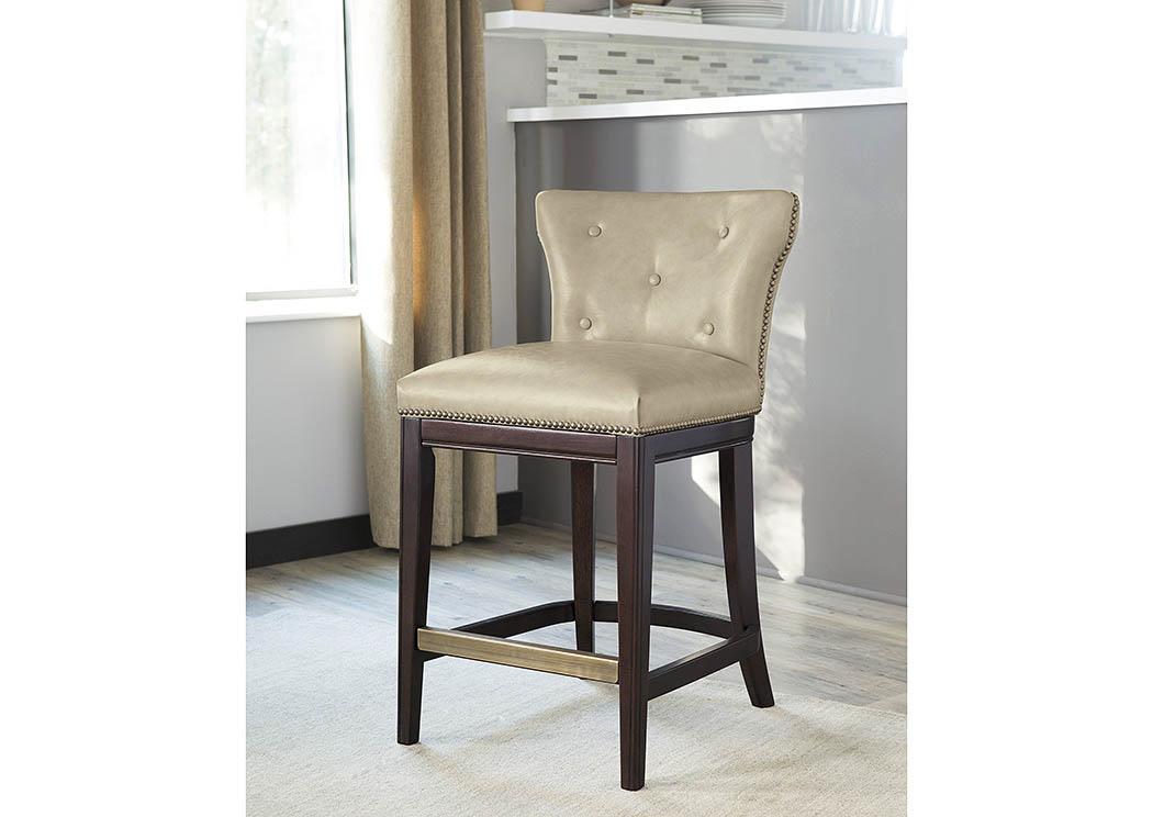 Harlem Furniture Canidelli Medium Brown Upholstered