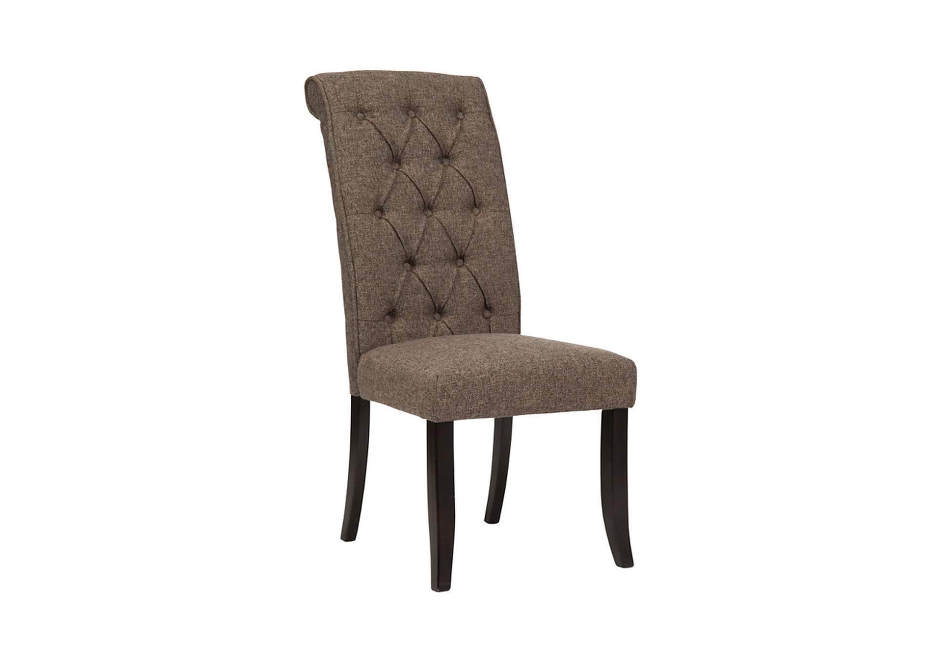 Tripton Medium Brown Dining Upholstered Side Chair (Set of 2),ABF Signature Design by Ashley
