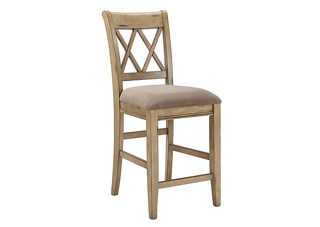 Mestler Upholstered Barstool (Set of 2),Signature Design by Ashley