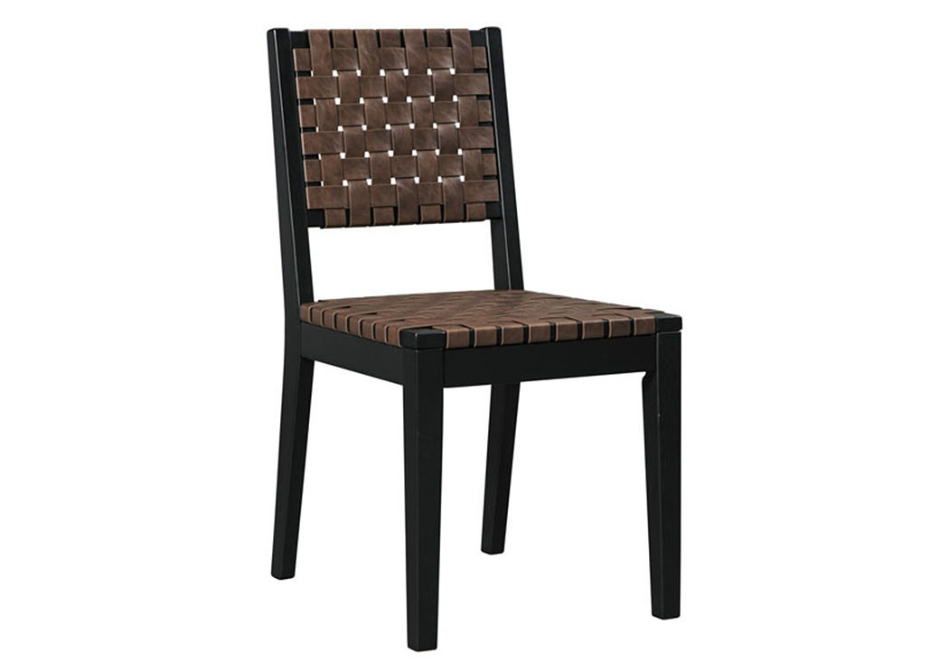 Glosco Brown Dining Room Side Chair (Set of 2),Signature Design By Ashley