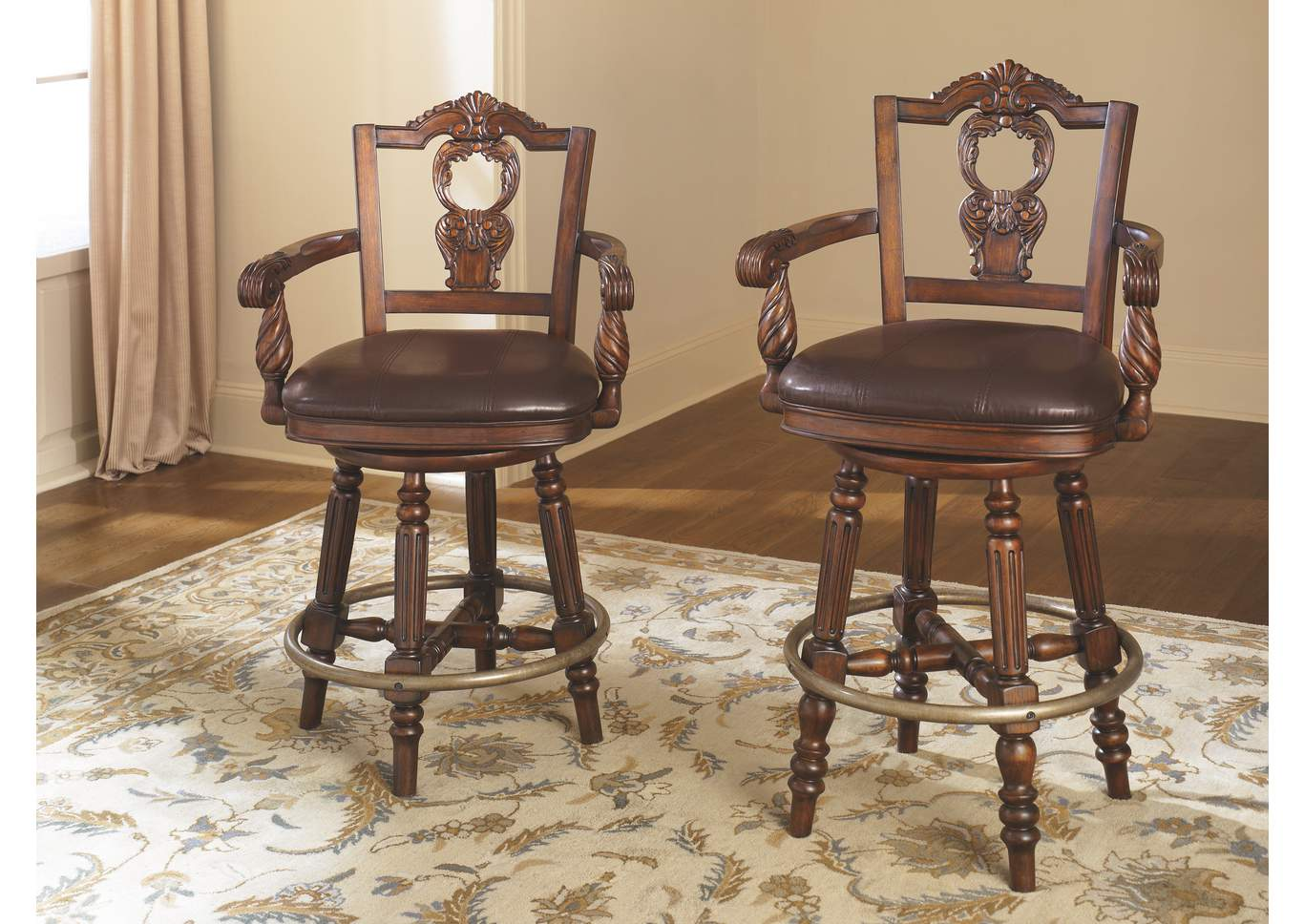 North Shore Swivel Barstool,Millennium