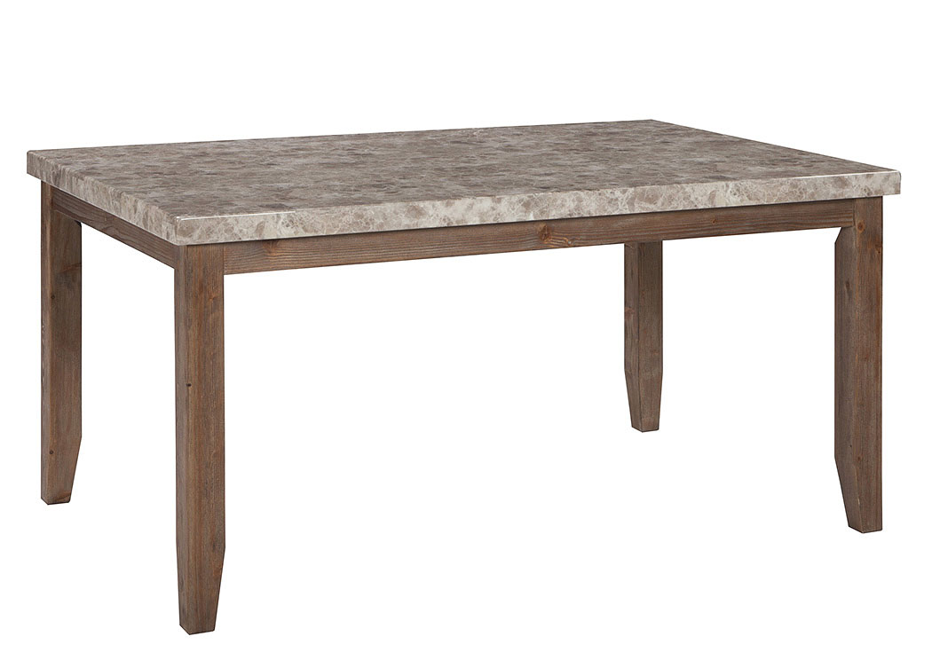 Narvilla Light Brown Rectangular Dining Room Table,Signature Design by Ashley