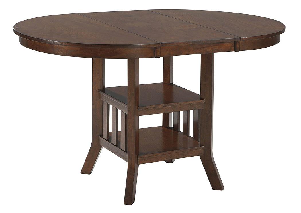 Taft Furniture & Sleep Center Renaburg Medium Brown Oval