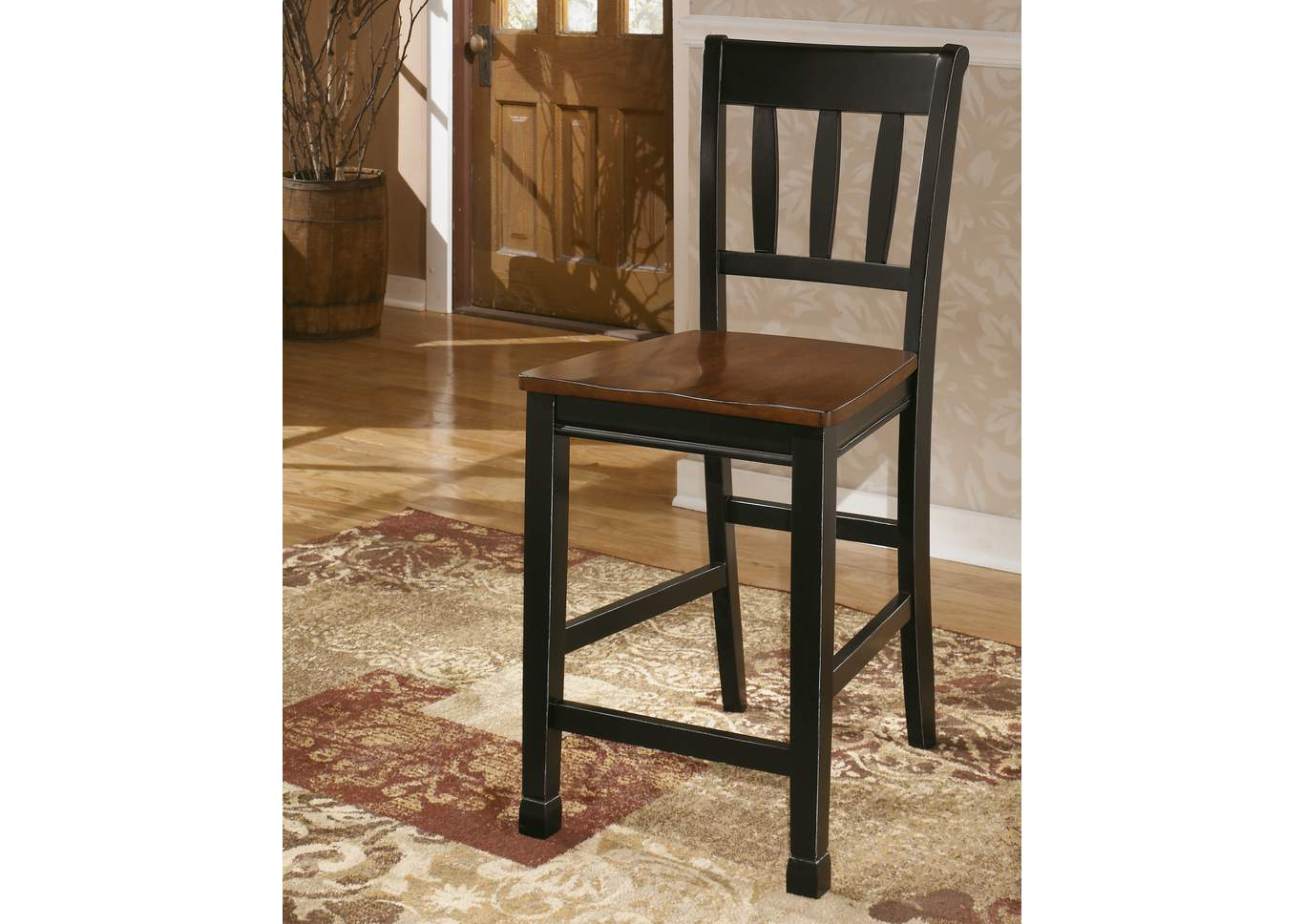 Owingsville Barstool (Set of 2),Signature Design by Ashley