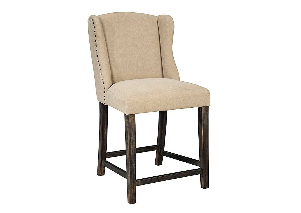Moriann Upholstered Barstool (Set of 2),Signature Design By Ashley