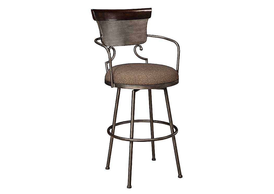 Moriann Tall Upholstered Barstool,Signature Design By Ashley