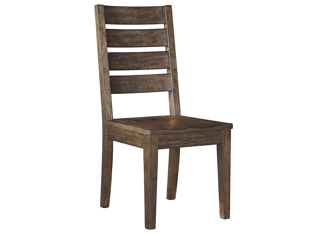Oak Furniture Liquidators Leystone Dark Brown Dining Room Side Chair (Set  Of 2)