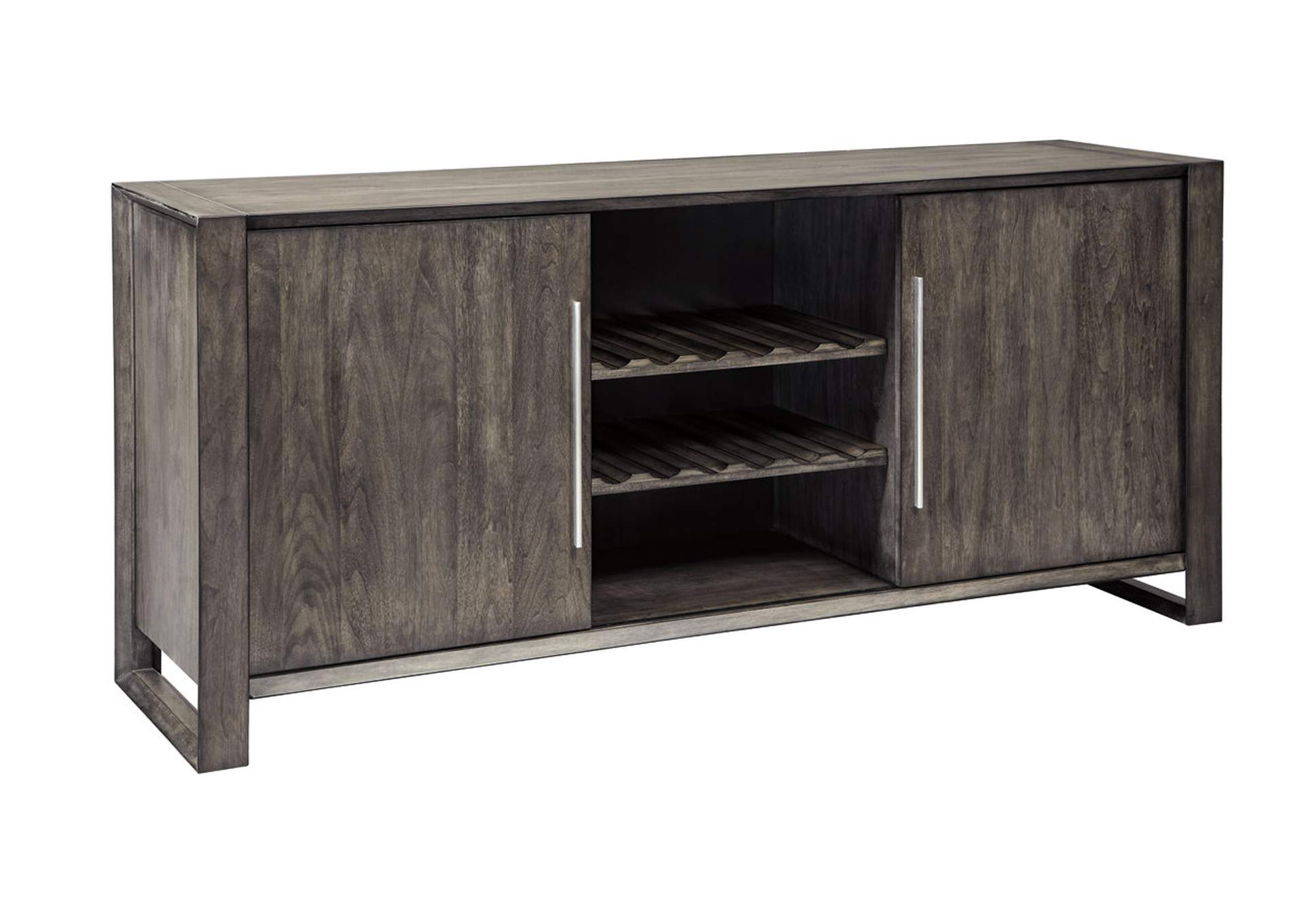 Furniture 4 less outlet chadoni gray dining room server for Furniture 4 less outlet