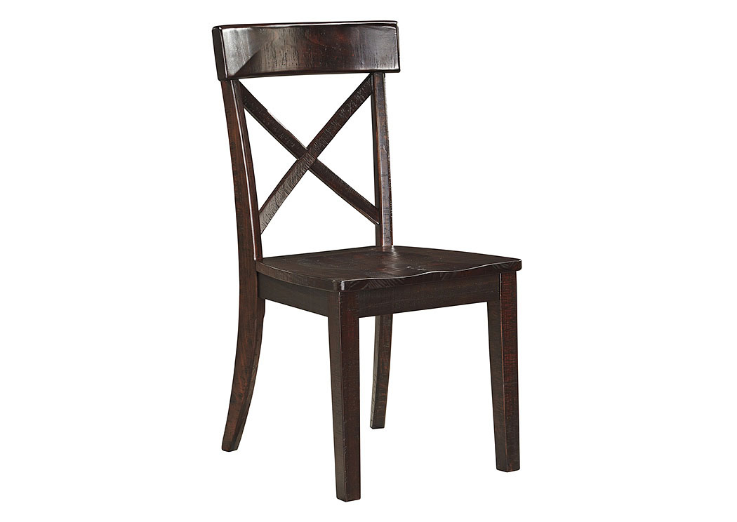 dining room gerlane dark brown dining room side chair set of 2