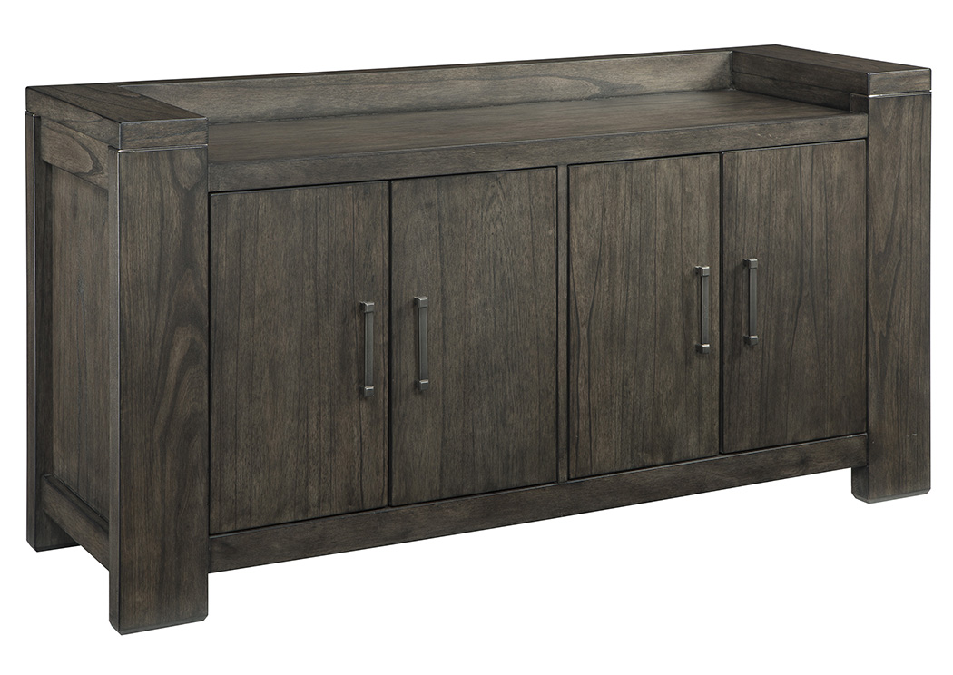 Chansey Dark Gray Dining Room Server,Signature Design By Ashley